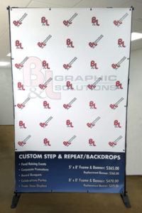 Advertising Backdrops